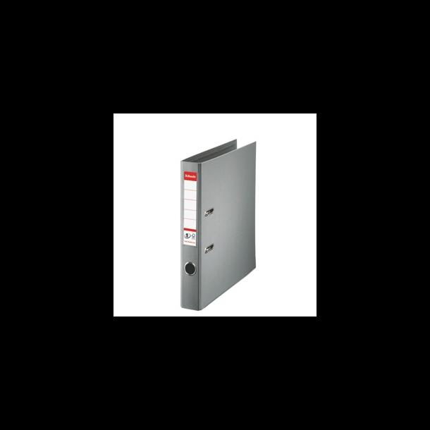 Brevordner - Esselte PP A4/50mm Grey 10 stk
