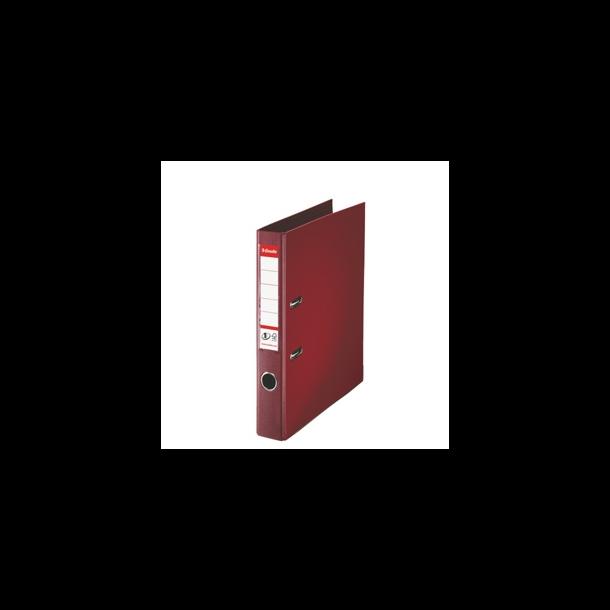 Brevordner - Esselte PP A4/50mm Bordeaux 10 stk