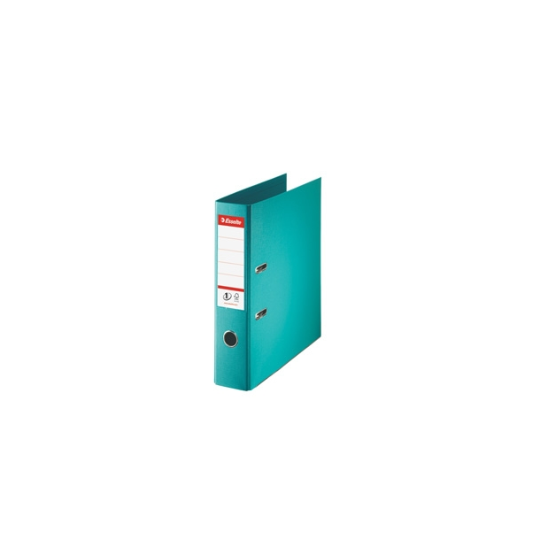 Brevordner - Esselte A4/75mm Turquoise - 10 stk
