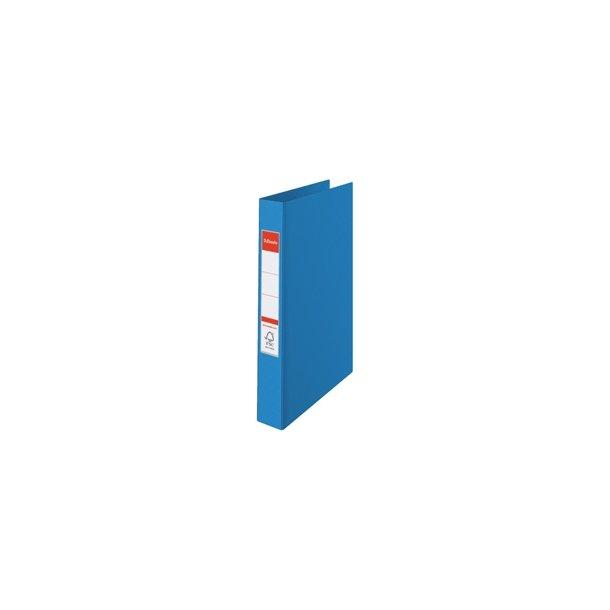 Ringbinder - Esselte A4 4RR/25mm Blå 10 stk
