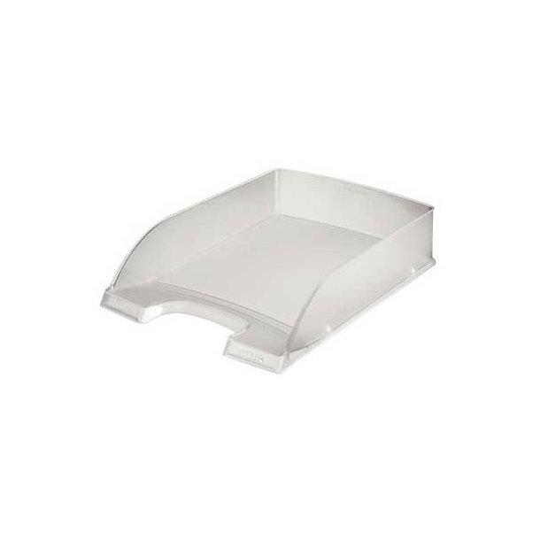Brevbakker - Leitz Plus letter tray Clear transparent 10 stk