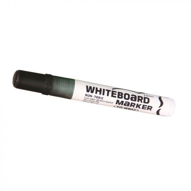 Whiteboard marker sort - 12 stk