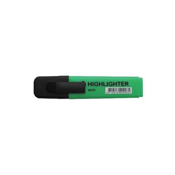 Tekstmarker grøn - 12 stk