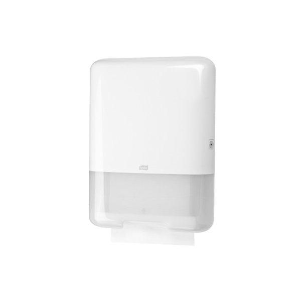 Tork dispenser H3 håndklædeark, Hvid plast - 1 stk