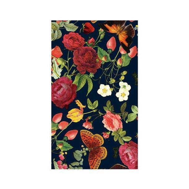 Gavepapir - Victoria med blomster, 57cm