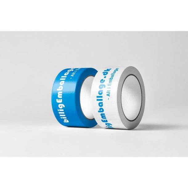 Logotape 1 farve - low noice tape - 72 ruller