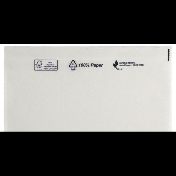Følgeseddellommer 225x160 mm, 1000 stk. - 100 % papir