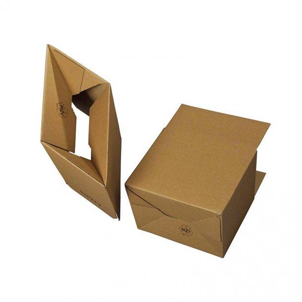 Automatbunds papkasser 310x230x185mm - 20 stk.