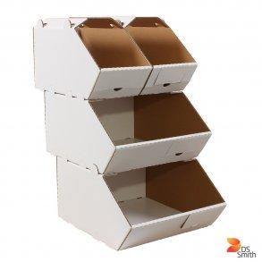 Lager og plukke kasser