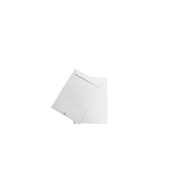 Securitex pose C4 hvid, 229x324 vand/rivefast - 100 stk