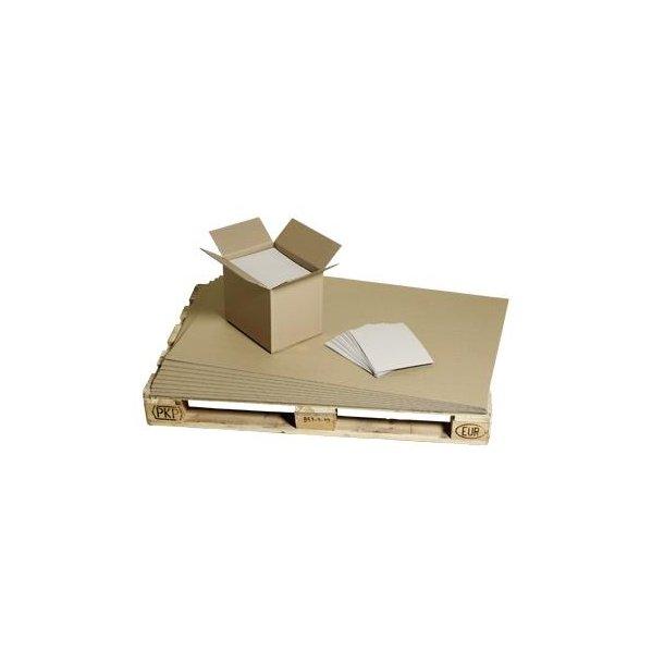 Palleark 780x1180mm enkeltlags bølgepap - 650 ark