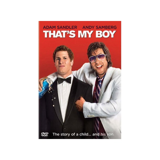 THATS MY BOY - DVD